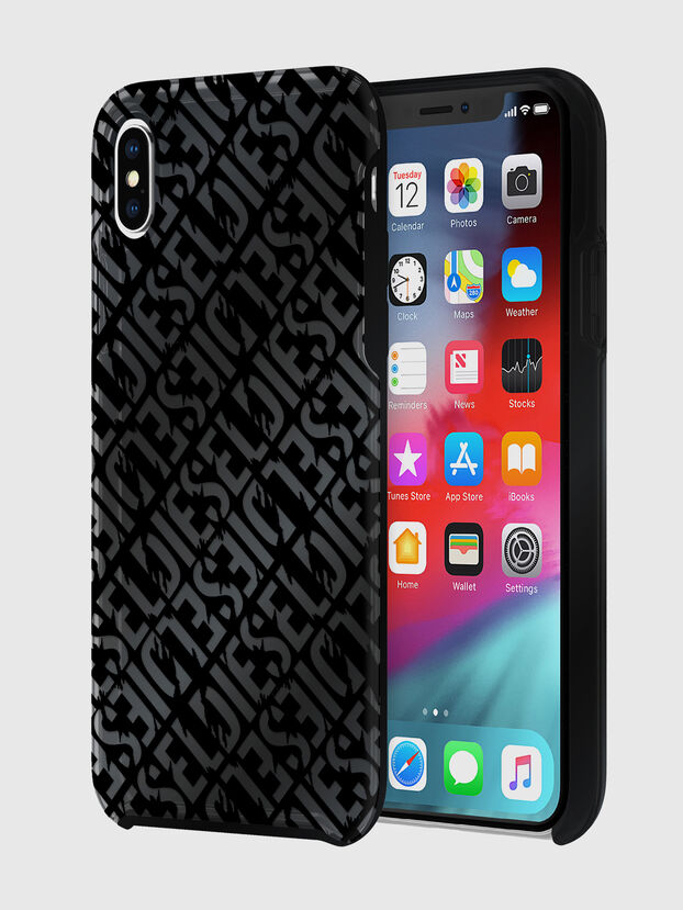 DIESEL PRINTED CO-MOLD CASE FOR IPHONE XS MAX, Noir - Coques