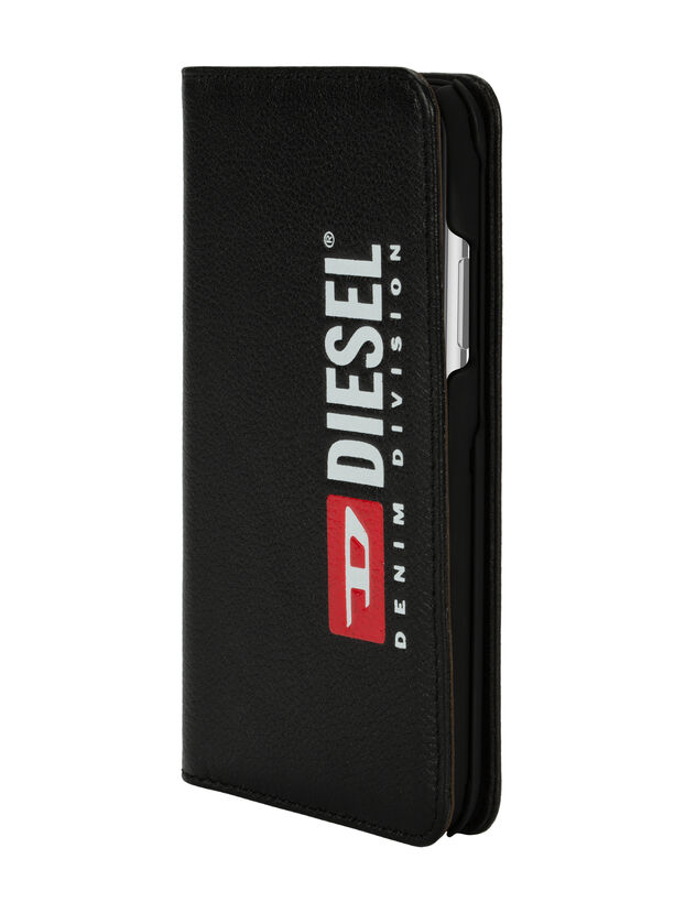 DIESEL 2-IN-1 FOLIO CASE FOR IPHONE XS & IPHONE X, Noir - Coques à rabat