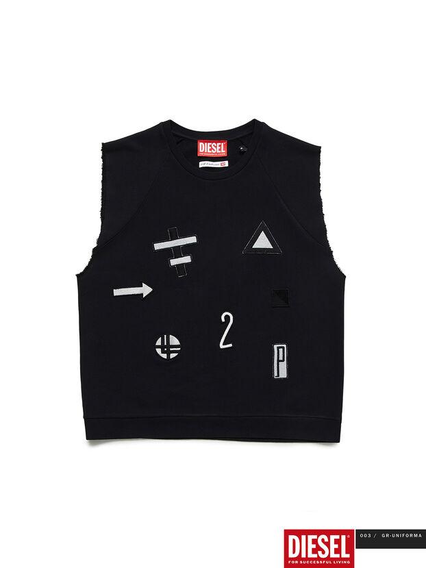 GR02-T303, Noir - T-Shirts