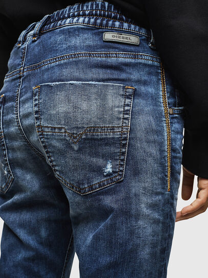 Diesel - Krailey JoggJeans 069AA, Bleu Foncé - Jeans - Image 4