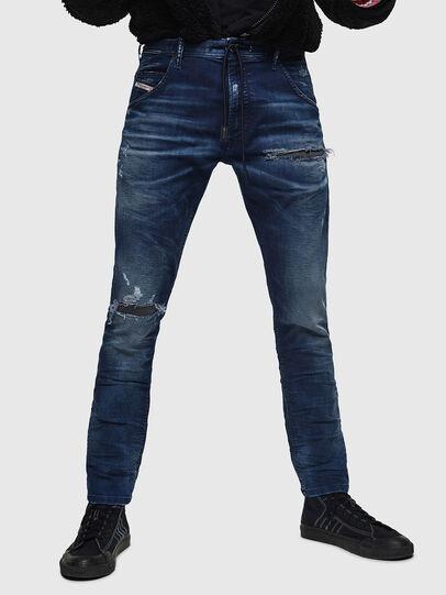 Diesel - Krooley JoggJeans 069JE, Bleu Foncé - Jeans - Image 1