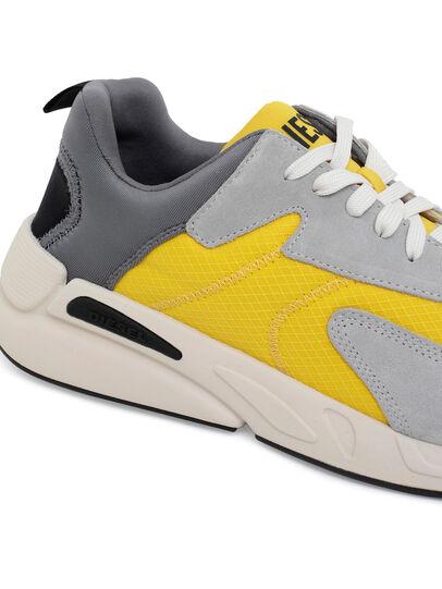 Diesel - S-SERENDIPITY LOW CU, Grey/Yellow - Sneakers - Image 4