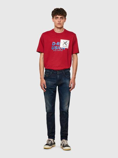 Diesel - D-Strukt JoggJeans® 09B50, Bleu Foncé - Jeans - Image 5