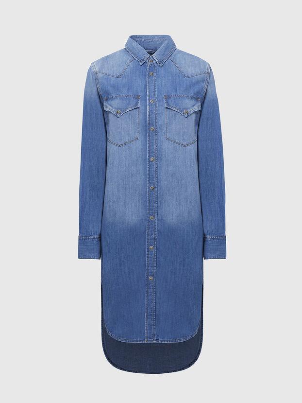 DE-BLANCHE, Bleu Clair - Robes