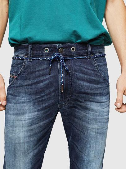 Diesel - Krooley JoggJeans 069IE, Dark Blue - Jeans - Image 3