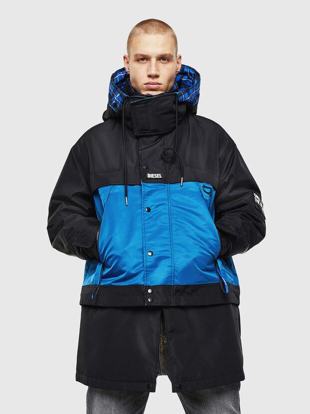W-HELBERT, Noir/Bleu - Vestes d'hiver