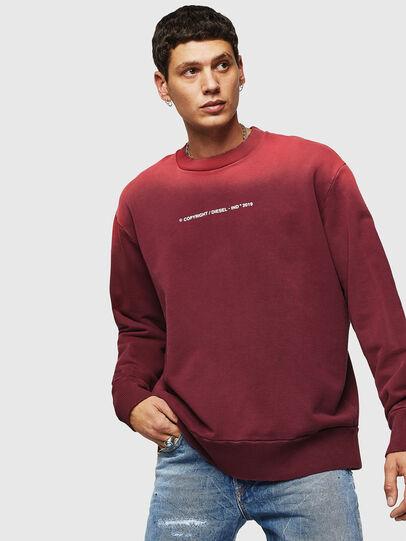 Diesel - S-BAY-SUN, Bordeaux - Sweatshirts - Image 1