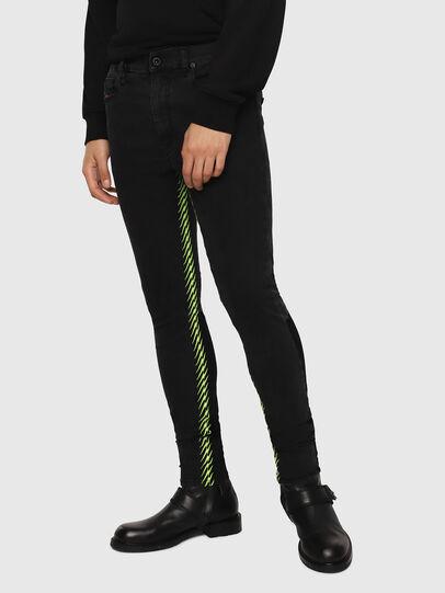 Diesel - D-Istort 082AM, Black/Dark Grey - Jeans - Image 1