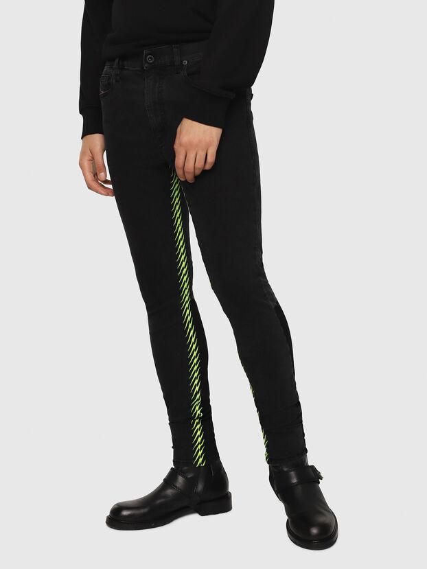 D-Istort 082AM, Black/Dark Grey - Jeans