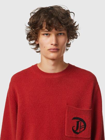 Diesel - K-BOSTON, Red - Sweaters - Image 3