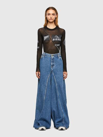 Diesel - D-Spritzz 009IJ, Bleu moyen - Jeans - Image 6