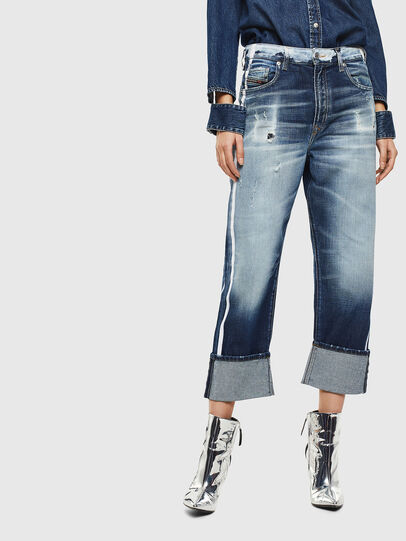 Diesel - D-Reggy 0096S, Bleu moyen - Jeans - Image 1
