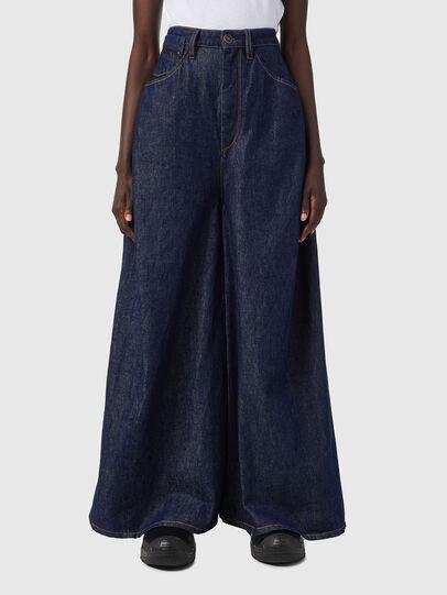 Diesel - DE-CONCY-SP, Blue - Skirts - Image 1