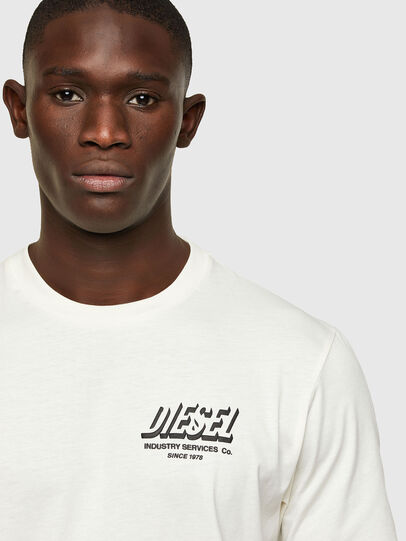 Diesel - T-JUST-A33, Blanc - T-Shirts - Image 3