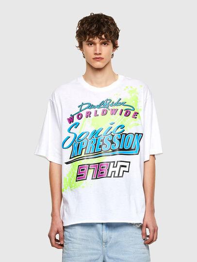 Diesel - T-DELPHONE, Blanc - T-Shirts - Image 1