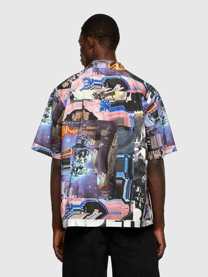 Diesel - S-DOOMY, Blue/Pink - Shirts - Image 2