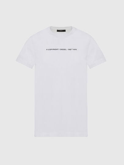 Diesel - T-SILY-COPY, Blanc - T-Shirts - Image 1