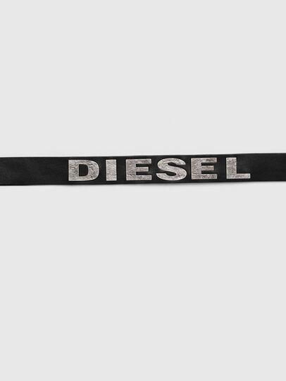 Diesel - B-BOLD, Noir - Ceintures - Image 4