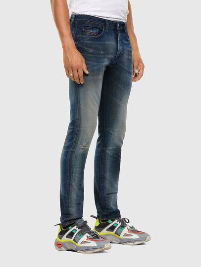 Diesel - Thommer 009FL, Bleu moyen - Jeans - Image 5