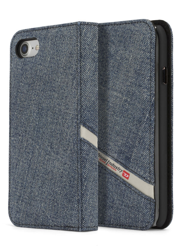 DENIM IPHONE 8/7 FOLIO, Jean Bleu - Coques à rabat