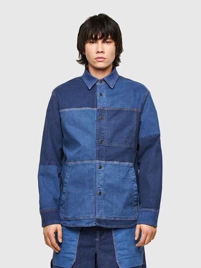 Diesel - D-CORUS-SP JOGGJEANS, Blue - Denim Shirts - Image 1