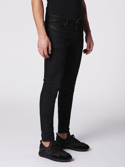 Diesel - Sleenker 084SB, Black/Dark Grey - Jeans - Image 3