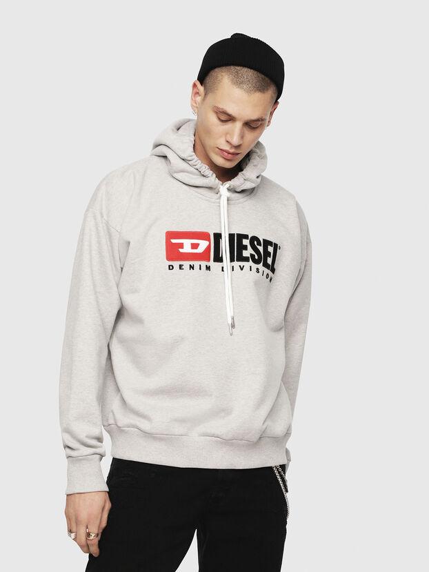 S-DIVISION, Light Grey - Sweatshirts