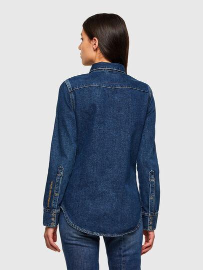 Diesel - DE-RINGY, Bleu Foncé - Chemises en Denim - Image 2