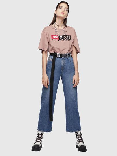 Diesel - Widee 080AN, Medium Blue - Jeans - Image 4