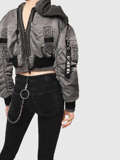 Diesel - Babhila 081AG, Black/Dark Grey - Jeans - Image 4