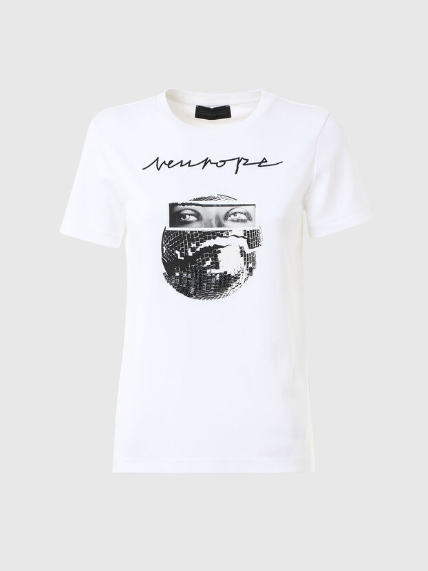 T-LYS, Blanc - T-Shirts