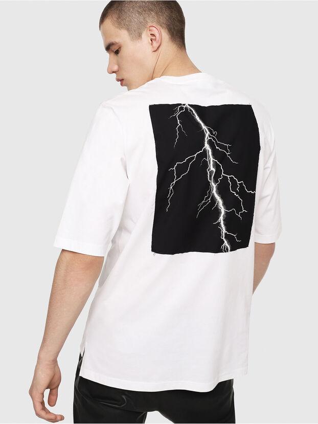T-YOSHIMI, Blanc/Rose - T-Shirts