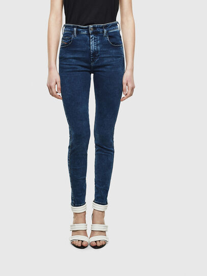 Diesel - Slandy High 0094Z, Dark Blue - Jeans - Image 1
