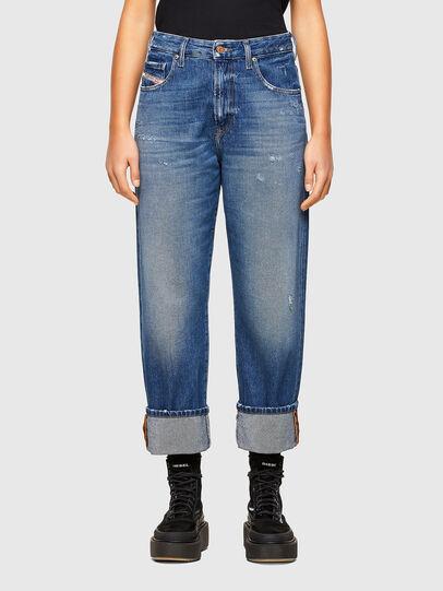 Diesel - D-Reggy 009RV, Bleu moyen - Jeans - Image 1