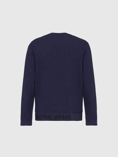 Diesel - S-PEWTER, Blue - Sweatshirts - Image 2