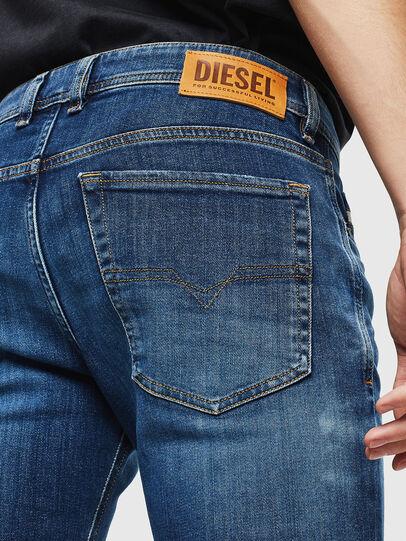 Diesel - Sleenker 0097T, Bleu Foncé - Jeans - Image 5