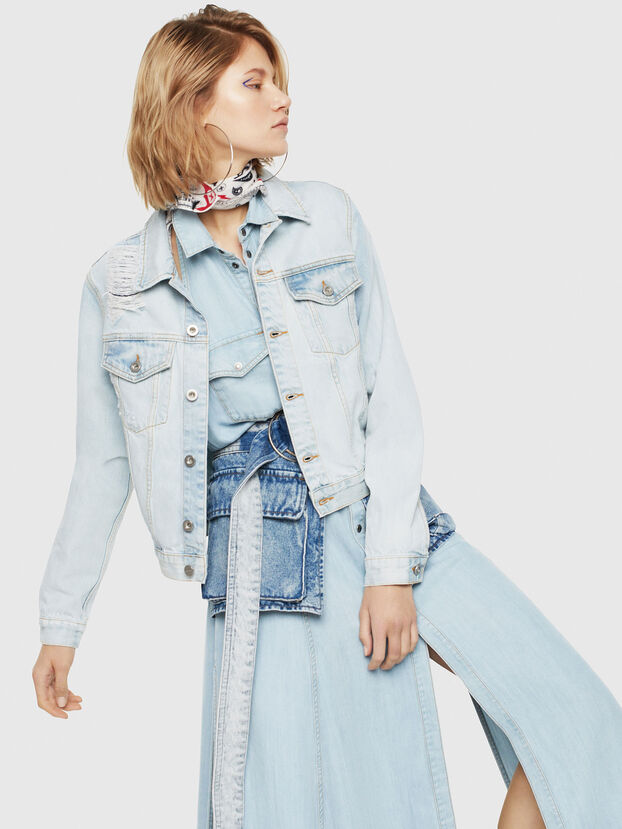 DE-VELVET, Blue Jeans - Denim Jackets