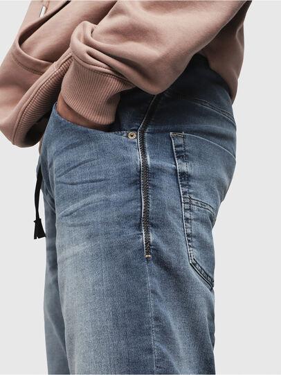 Diesel - KROOSHORT JOGGJEANS, Bleu Clair - Shorts - Image 3