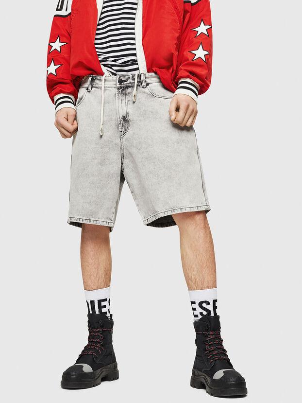 D-WILLOH, Gris Clair - Shorts