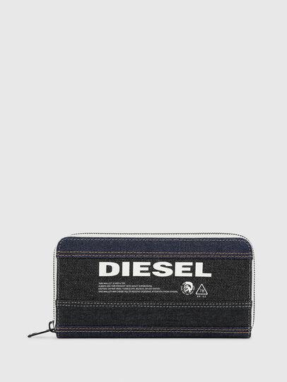 Diesel - 24 ZIP, Noir/Bleu - Portefeuilles Zippés - Image 1