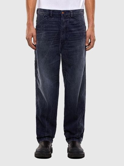Diesel - D-Franky 009IY, Bleu Foncé - Jeans - Image 1