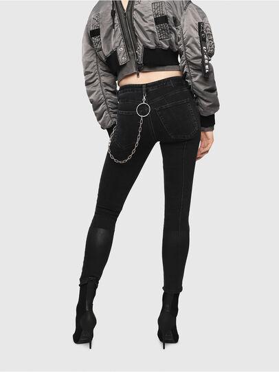 Diesel - Babhila 081AG, Black/Dark Grey - Jeans - Image 2
