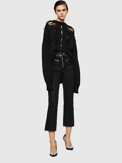 Diesel - MEBLY, Noir - Pull Maille - Image 6