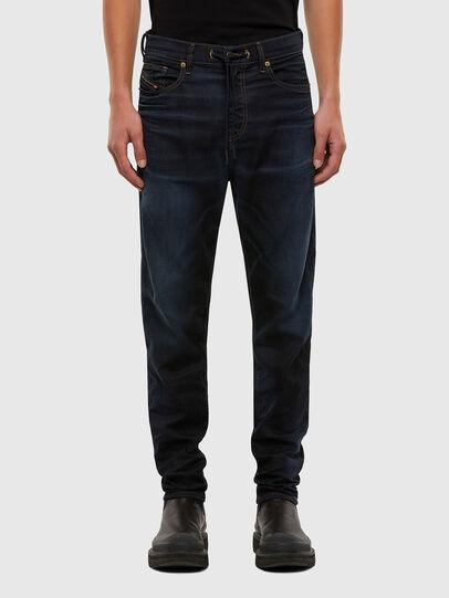 Diesel - D-Vider JoggJeans 069QF, Bleu Foncé - Jeans - Image 1
