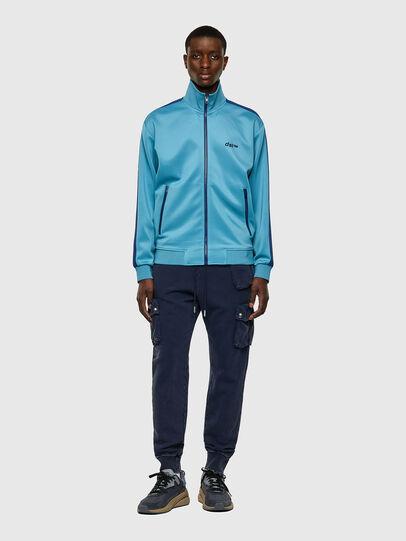 Diesel - S-KRAMY, Light Blue - Sweatshirts - Image 4
