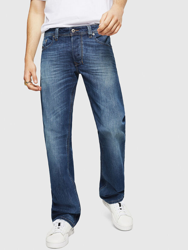 Larkee C89AR, Bleu Foncé - Jeans