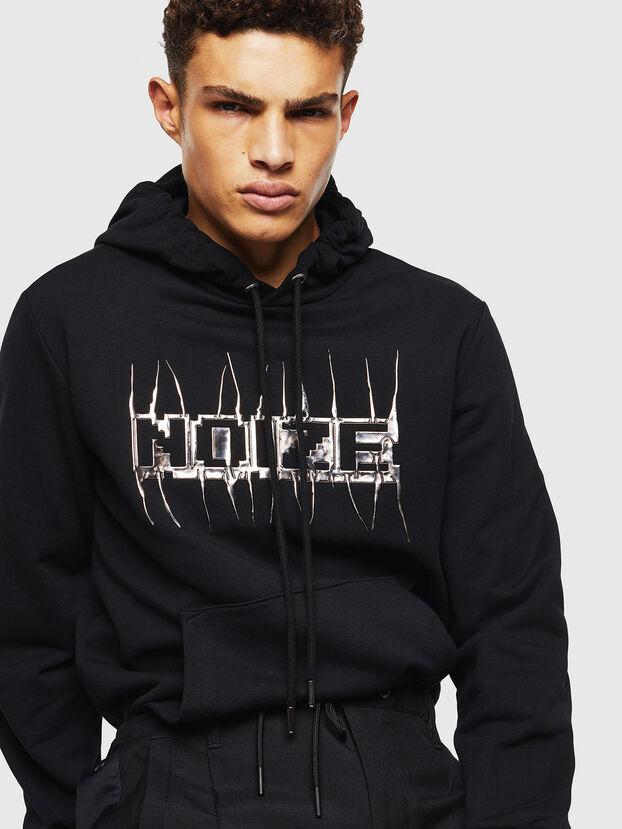 S-GIRK-HOOD-J1, Black - Sweatshirts