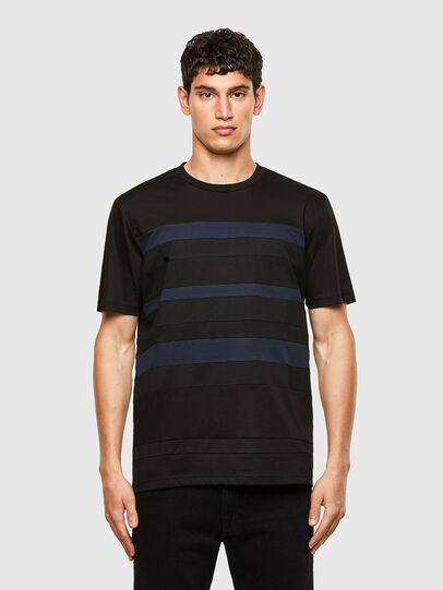 Diesel - T-LOUD, Noir - T-Shirts - Image 1