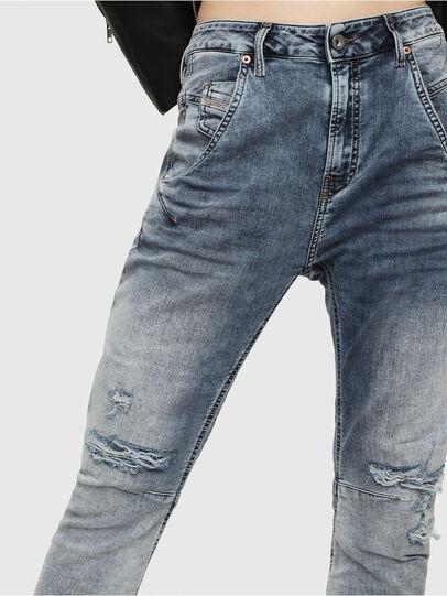 Diesel - Fayza JoggJeans 069FC, Medium Blue - Jeans - Image 3