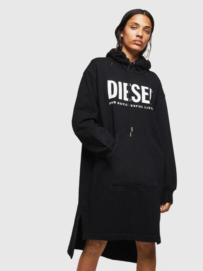 Diesel - D-ILSE-T, Noir - Robes - Image 1